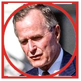 H.W. Bush, 1989